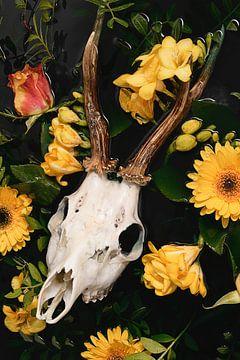 Reebok Geweih - Dia de los Muertos von Nikki Segers