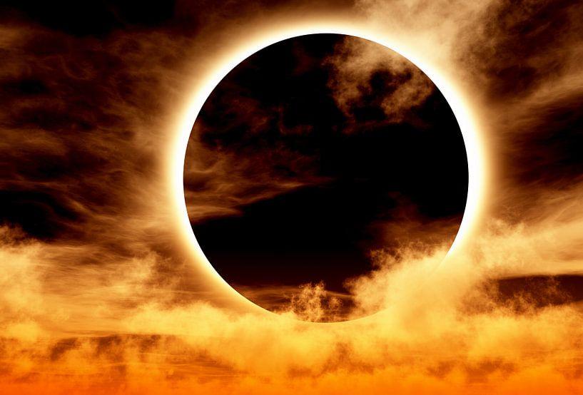 totale zonsverduistering van Max Steinwald