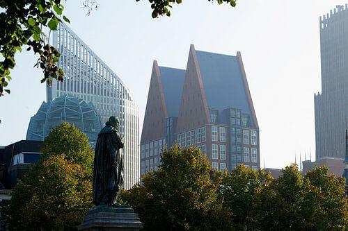 Skyline, Den Haag. Gezien vanaf het Plein
