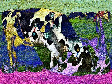 Grazende Koeien / Op Het Verkeerde Been van McRoa
