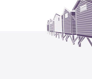 strandhuisjes van Pincello Studio