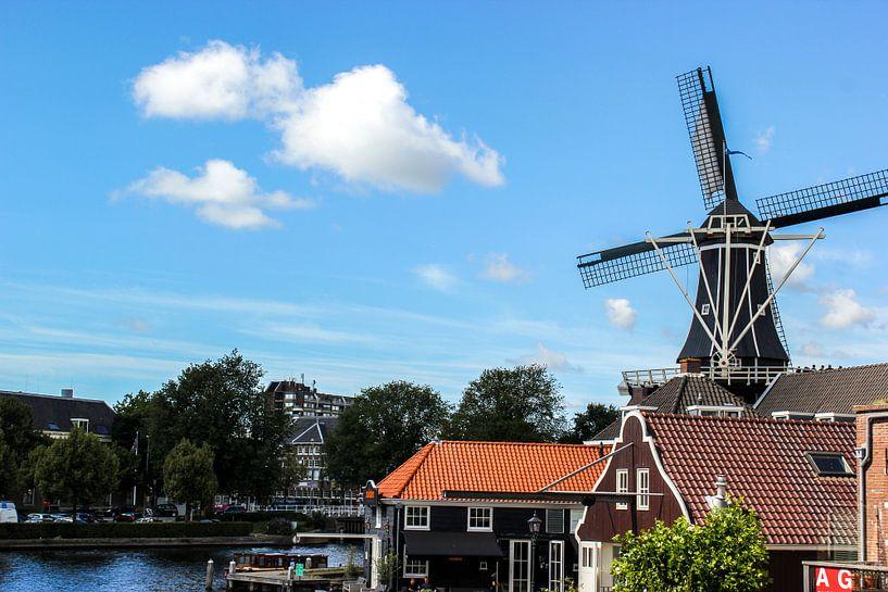 Hollandse windmolen  van Erik Koks
