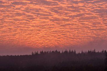 feurige Wolken von Tania Perneel