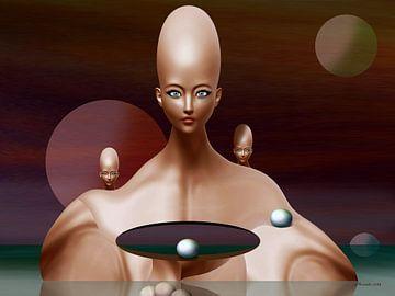 Perleninsel von Ton van Hummel (Alias HUVANTO)