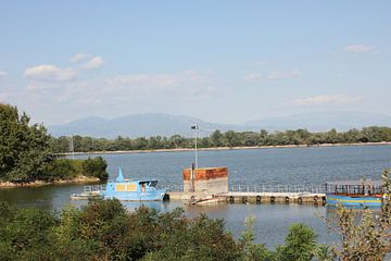 Boote im Hafen - Kerkini See von ADLER & Co / Caj Kessler