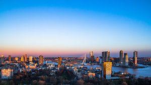 Rotterdam gezien vanaf de Euromast van