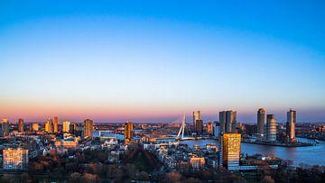 Rotterdam von Euromast von Dennis Dieleman