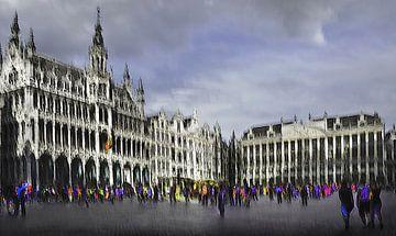Brussel, Grote Markt / Grand Place von Fons Bitter