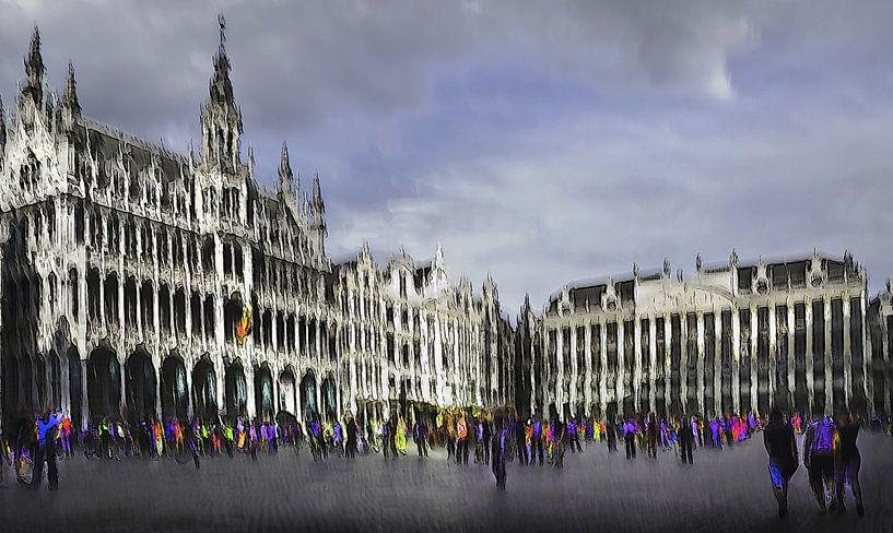 Brussel, Grote Markt / Grand Place van Fons Bitter