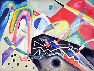 Weiße Zig-Zags, Wassily Kandinsky