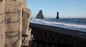 Reynisfjara Bay, Vik, IJsland, Europa van Alexander Ludwig