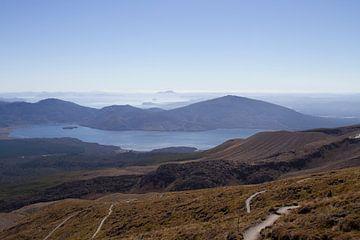 Tongariro National Park Nieuw Zeeland van