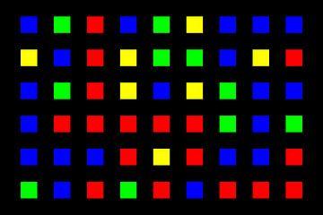 Nested | Center | 09x06 | N=01 | Random #05 | RGBY van Gerhard Haberern