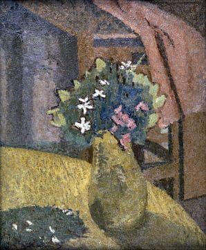 Vaas met Bloemen, stilleven, Gwen John, 1910s