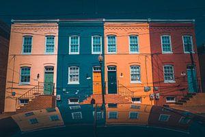 Reflectie in Georgetown Washington DC