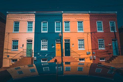 Reflectie in Georgetown Washington DC van