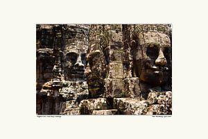 Tempel Angkhor Wat sur strange IT