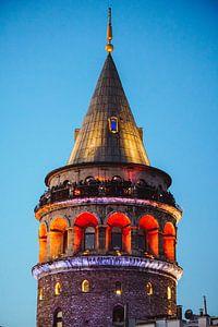 Galata Tower (Istanbul) van
