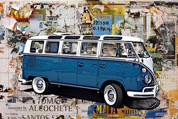 Volkswagen T1 VW Bus Samba van Berthold Werner
