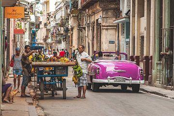 Street in Old Havana, Cuba von Andreas Jansen