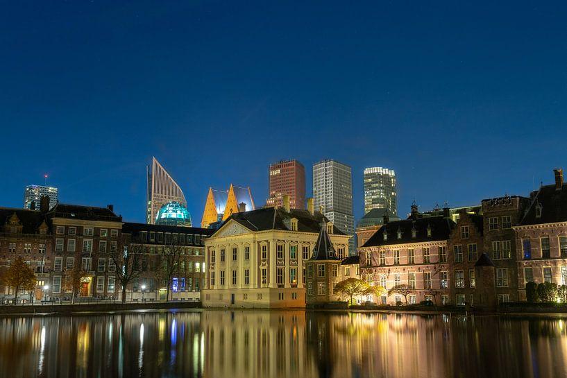 Skyline Den Haag von Peter Sneijders