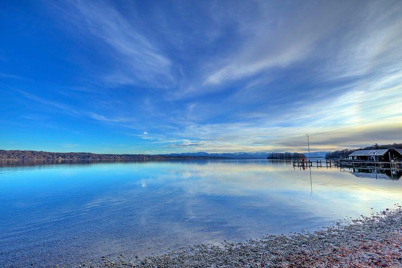 Le lac Starnberg près de Munich sur Roith Fotografie