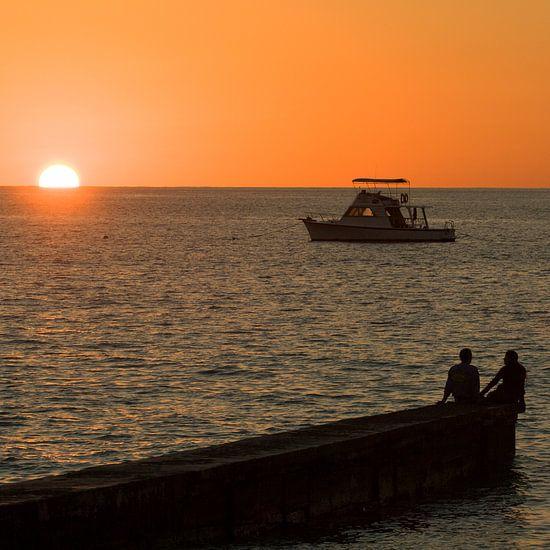 Romance on the jetty