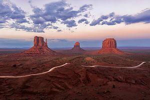 Monument Valley, Three Mittens von Sander Sterk