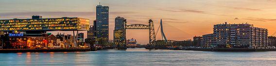Panorama de Hef bij zonsondergang