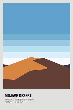 Verenigde Staten - Mojavewoestijn van Walljar