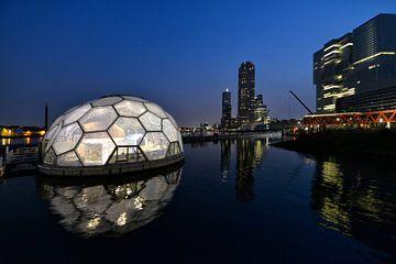 Rotterdam by night. van Tilly Meijer
