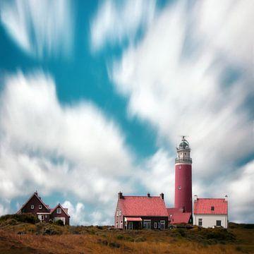 Leuchtturm auf Texel von Niels Tichelaar