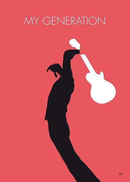 No002 MY THE WHO Minimal Music poster van Chungkong Art