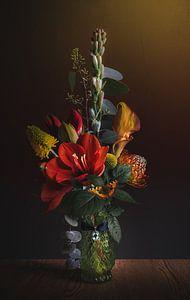 Nature morte en fleurs I sur Sandra H6 Fotografie