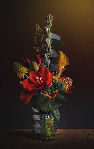Flower Still Life I van Sandra H6 Fotografie