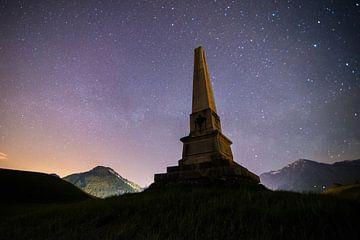 Allweg bei Nacht van Severin Pomsel