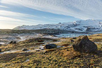 Hoogste berg van IJsland Hvannadalshnúkur van Wigger Tims