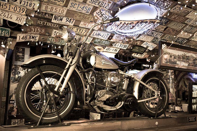 Motor Harley Davidson Liberator van Inge van den Brande