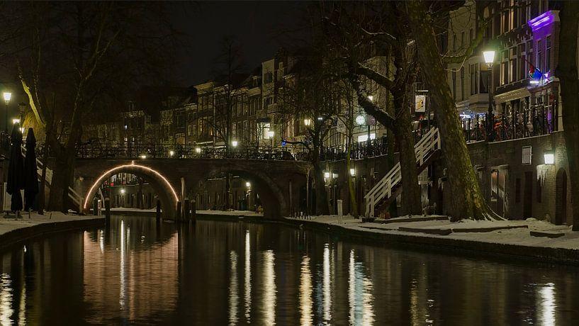 Oudegracht, Utrecht van Pierre Timmermans