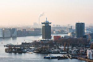 A'DAM toren in Amsterdam Noord van
