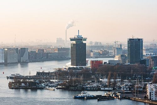 A'DAM toren in Amsterdam Noord van Renzo Gerritsen