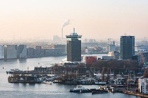 A'DAM toren in Amsterdam Noord