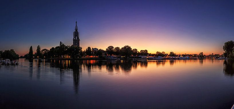 Potsdam Skyline an der Havel im Sonnenuntergang von Frank Herrmann
