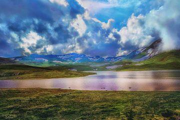 Norwegen Landschaft von Helga van de Kar