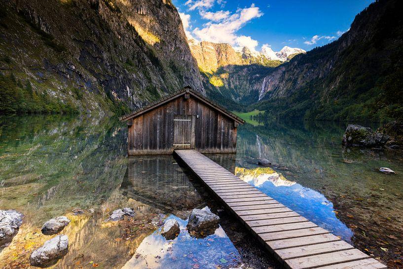Boothuis aan de Obersee van Tilo Grellmann | Photography