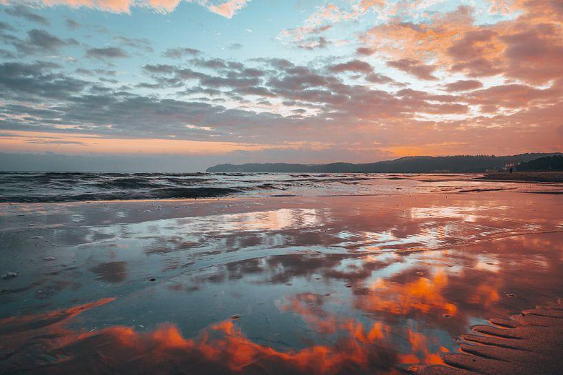 Sonnenaufgang Ostseebad Binz, Insel Rügen von Mirko Boy