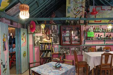 Interieur bar Isla Holbox, Mexico
