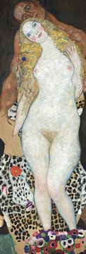 Adam und Eva, Gustav Klimt