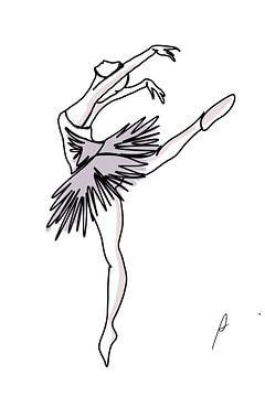 Die kleine Tänzerin von Ankie Kooi