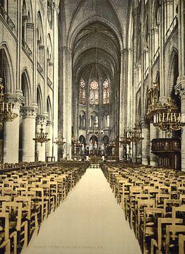 Interieur van de Notre Dame van